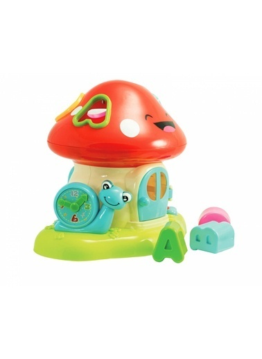 Prego Prego Toys WD 3636 Mushroom Bricks Cabin Renkli